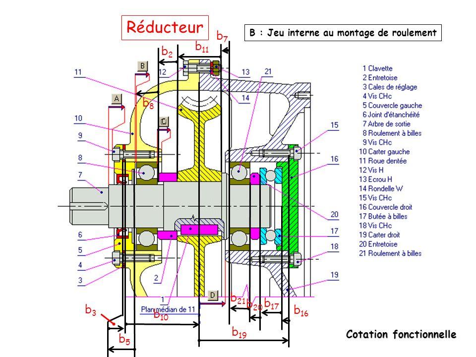 Réducteur b7 b11 b2 b8 b21 b20 b17 b3 b16 b10 b19 b5