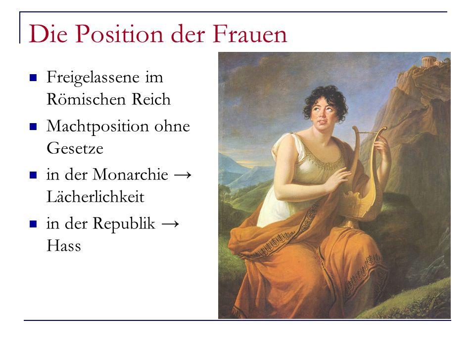 Die Position der Frauen