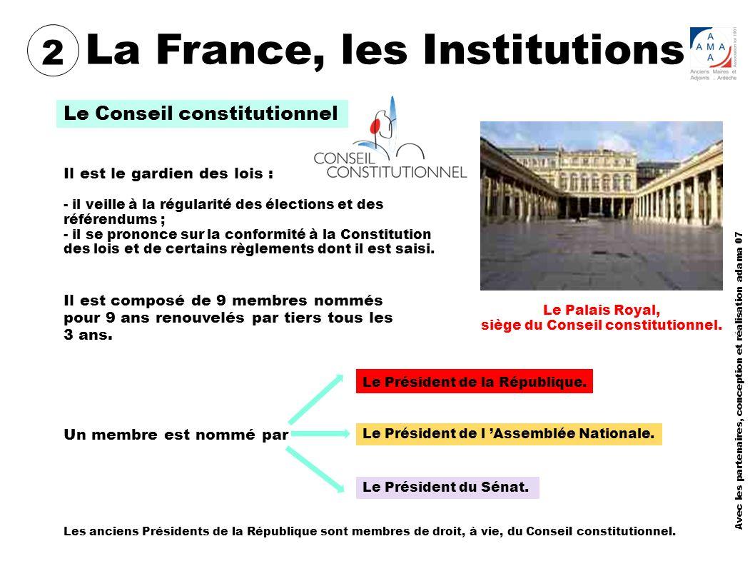 saisie du conseil constitutionnel
