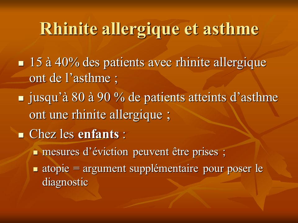 Allergies non alimentaires : diagnostic & traitement - ppt