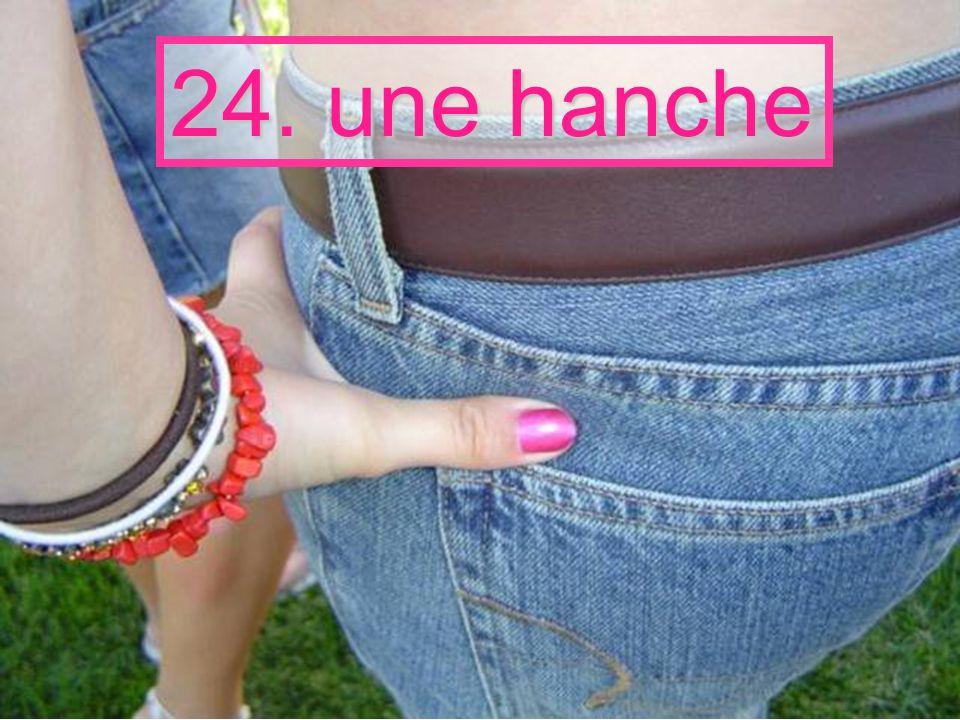 24. une hanche