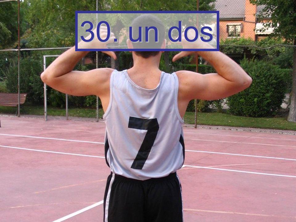 30. un dos