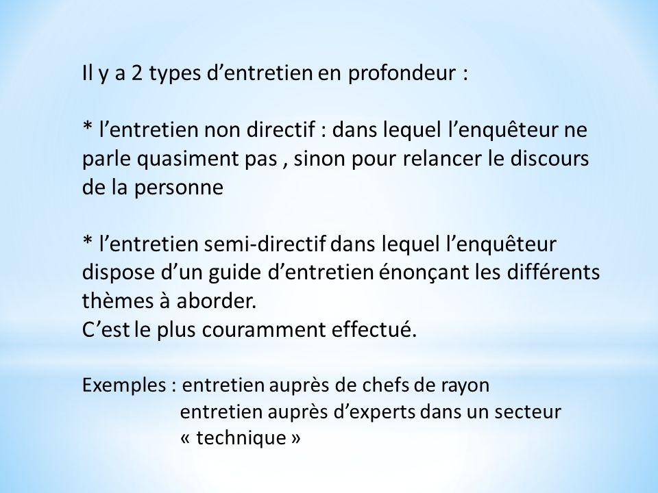Cours 3 le sim syst me d informations marketing ppt - Entretien semi directif exemple de grille d entretien ...