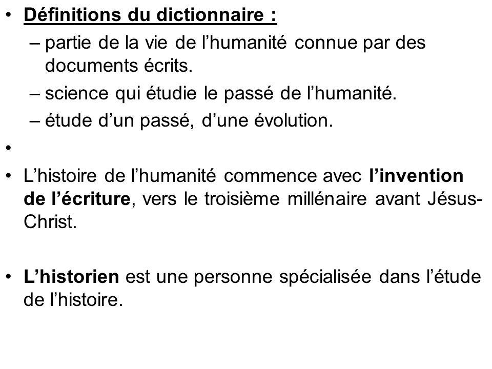 Définitions du dictionnaire :