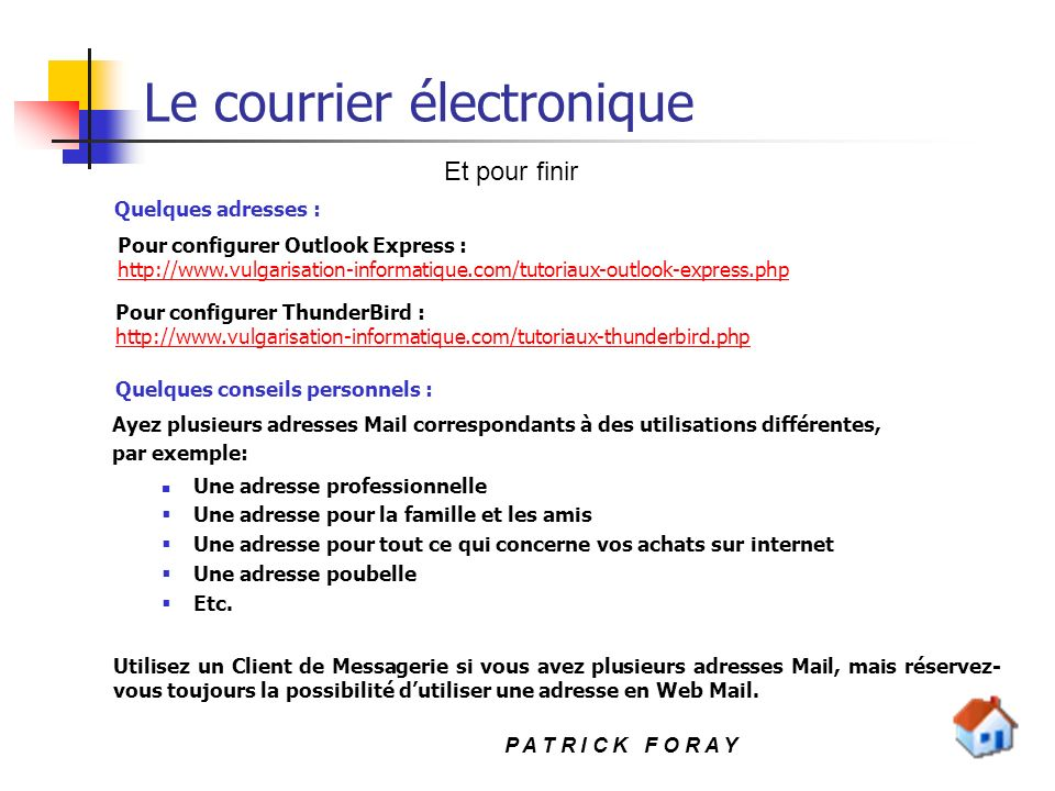 le courrier  u00e9lectronique