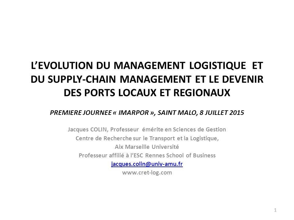 management de la logistique pdf