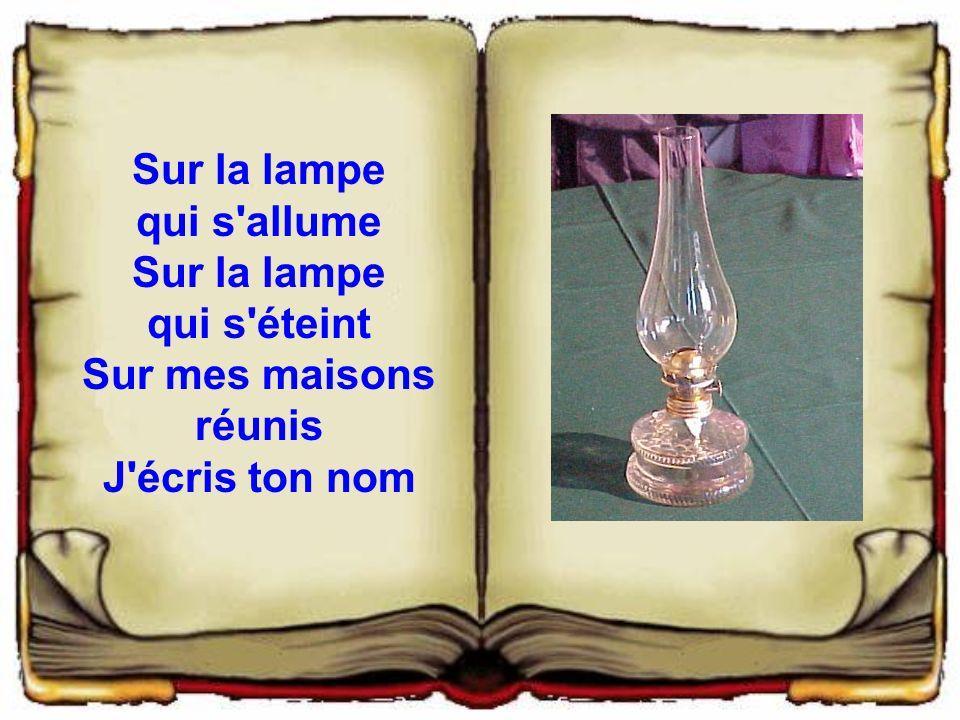 Mai 2006 amitie45f pr sente un texte de paul eluard ppt t l charger - Lampe qui s allume en la touchant ...