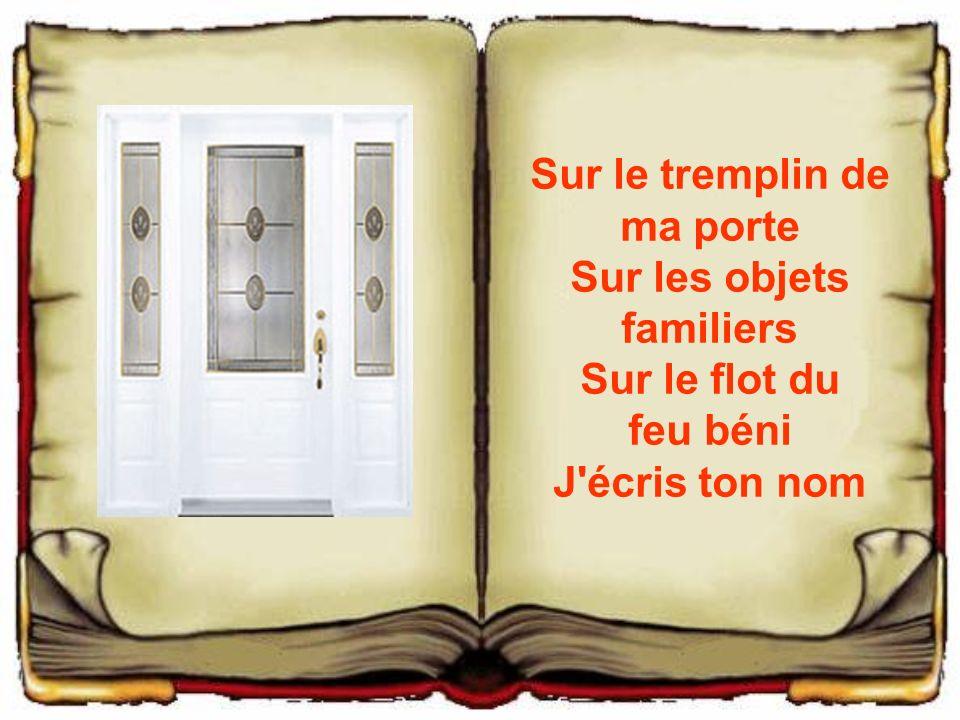 Mai 2006 amitie45f pr sente un texte de paul eluard ppt for Porte sur le feu
