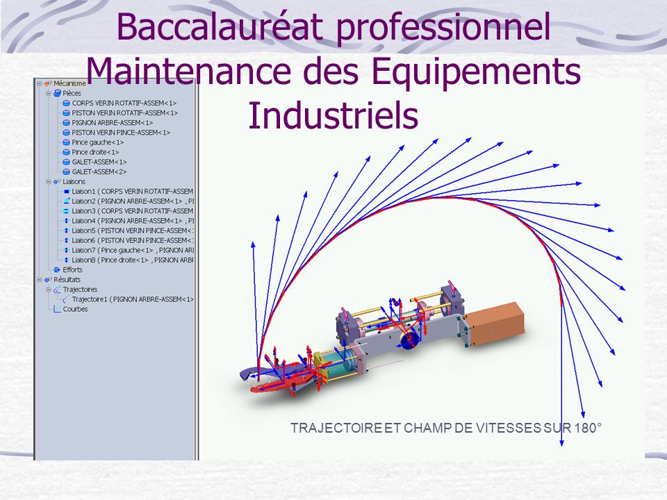 baccalaur u00e9at professionnel maintenance des equipements industriels