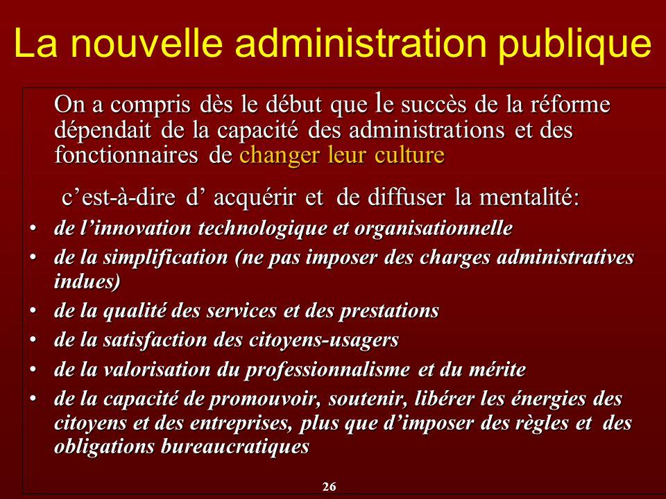 La nouvelle administration publique