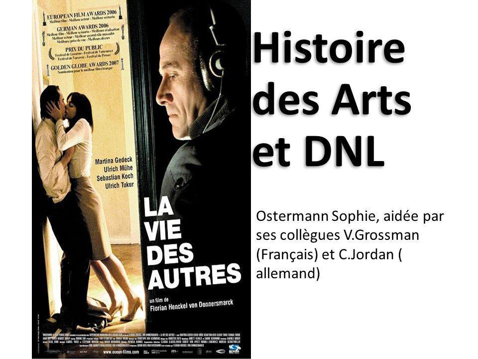 Histoire des Arts et DNL
