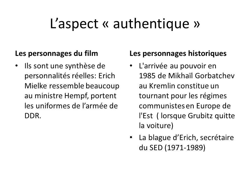 L'aspect « authentique »