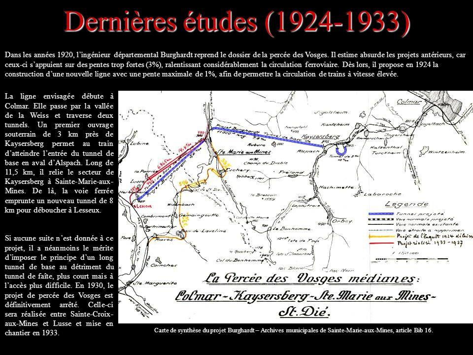 Dernières études (1924-1933)
