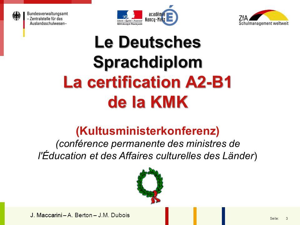 Le Deutsches Sprachdiplom (Kultusministerkonferenz)
