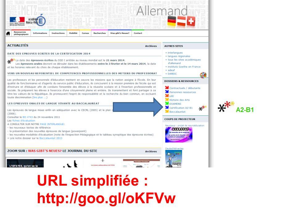 Site d'allemand : page dédiée à la Certification