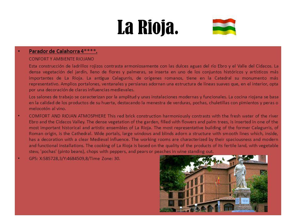 La Rioja. Parador de Calahorra 4****. CONFORT Y AMBIENTE RIOJANO