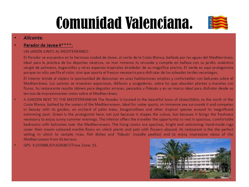 Comunidad Valenciana. Alicante. Parador de Javea 4****.