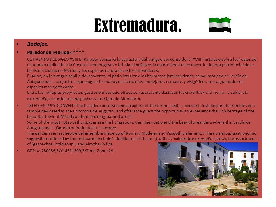Extremadura. Badajoz. Parador de Merida 4****.