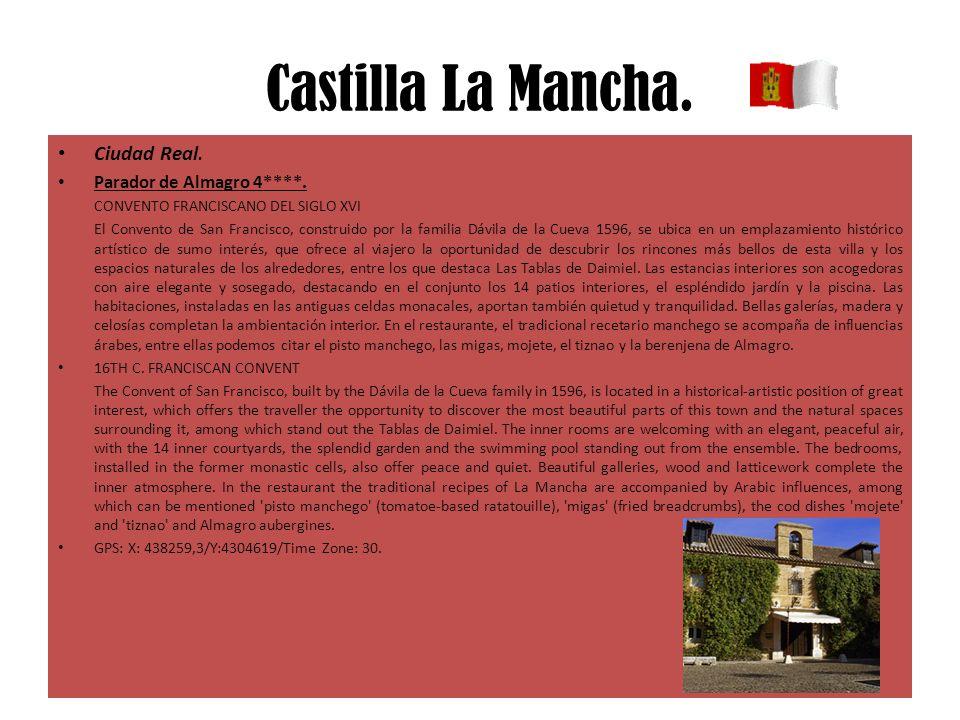 Castilla La Mancha. Ciudad Real. Parador de Almagro 4****.