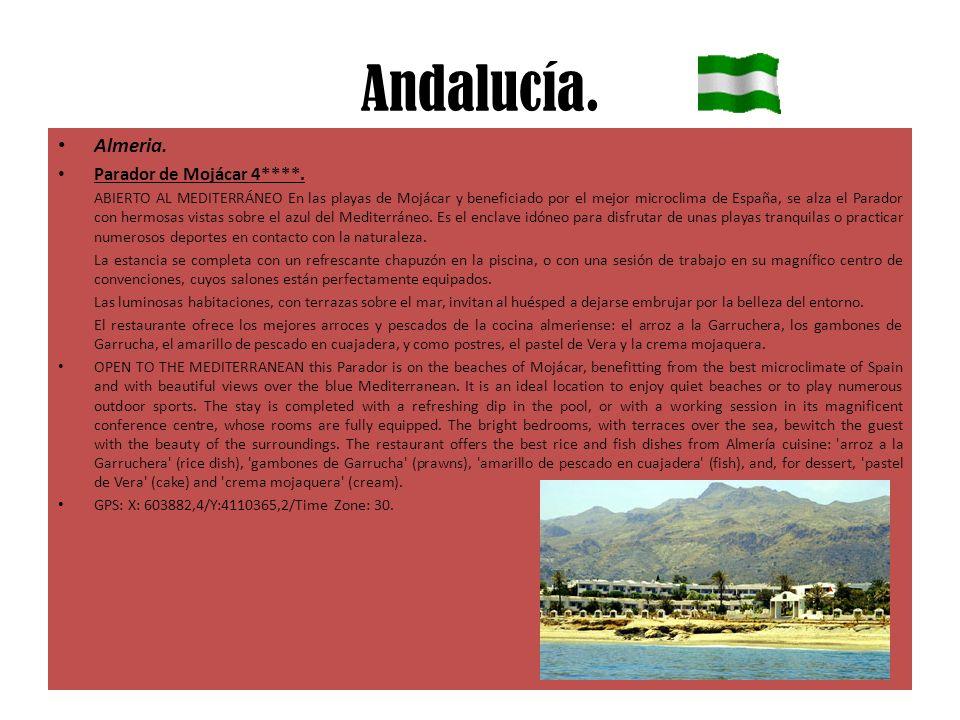 Andalucía. Almeria. Parador de Mojácar 4****.