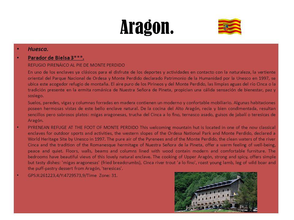 Aragon. Huesca. Parador de Bielsa 3***.