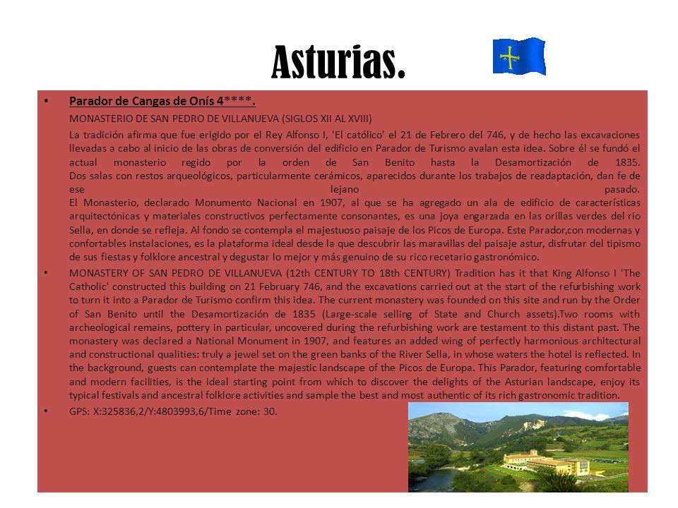 Asturias. Parador de Cangas de Onís 4****.