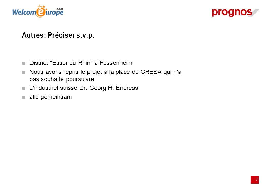 Autres: Préciser s.v.p. District Essor du Rhin à Fessenheim
