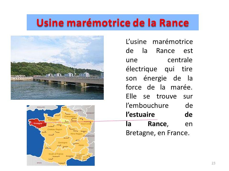 Les principales sources d energie ppt video online for Estuaire de la rance