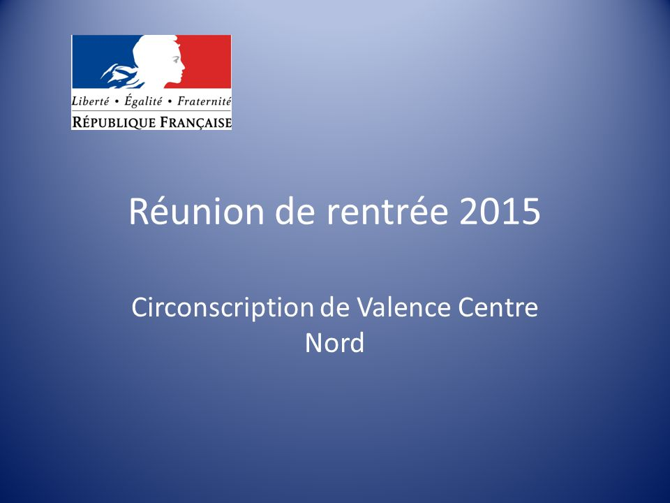Circonscription de Valence Centre Nord
