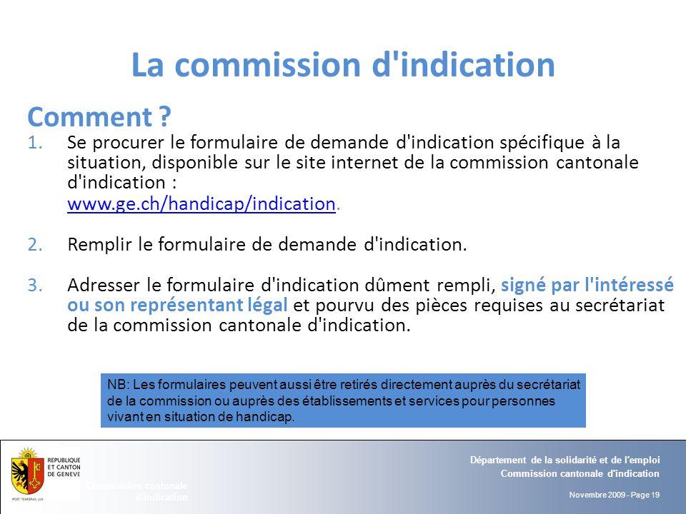 Commission cantonale d 39 indication ppt t l charger - Comment se procurer des cheques emploi service ...
