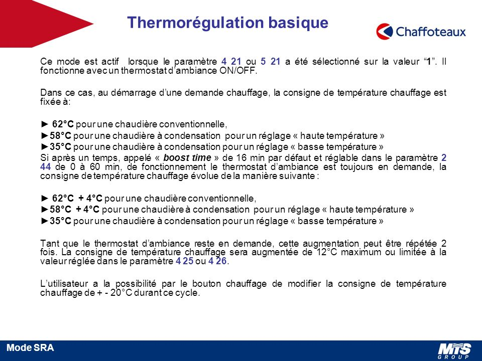 Thermorégulation basique