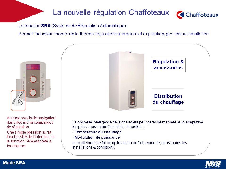 Régulation & accessoires Distribution du chauffage
