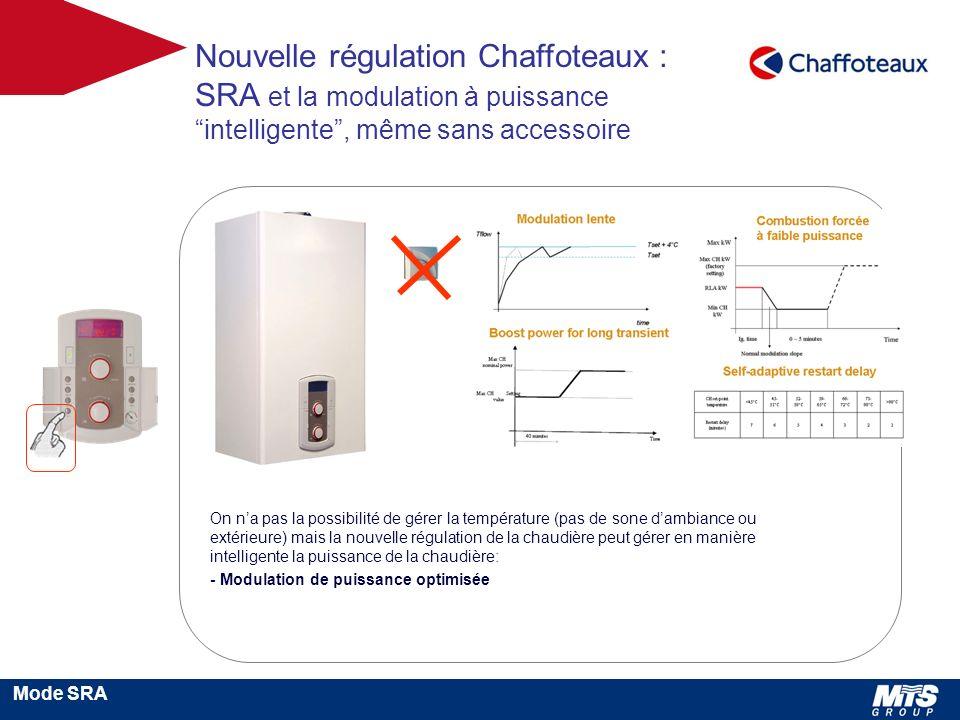 Nouvelle régulation Chaffoteaux :