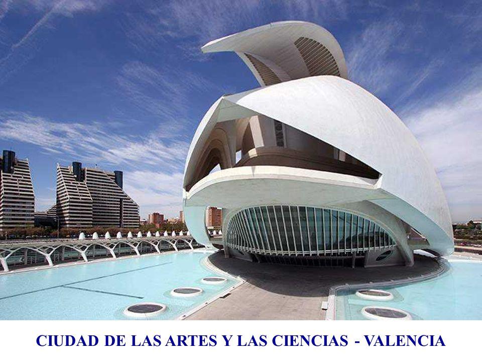 CIUDAD DE LAS ARTES Y LAS CIENCIAS - VALENCIA