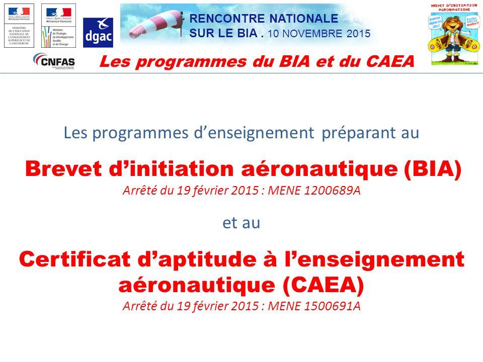 Certificat d'aptitude à l'enseignement aéronautique (CAEA)