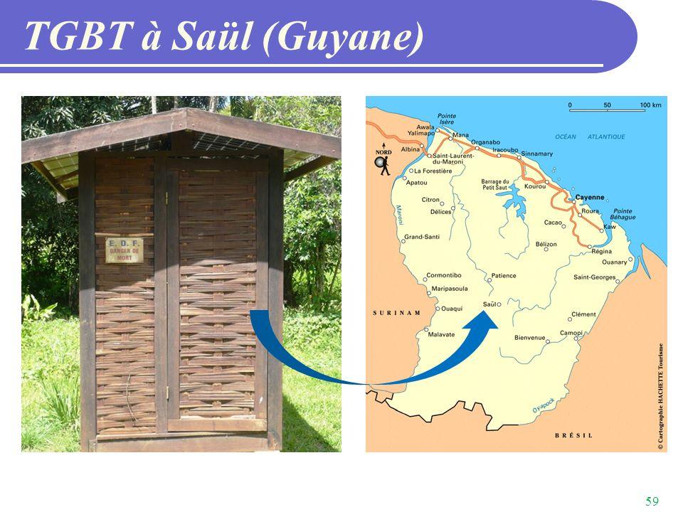 TGBT à Saül (Guyane)