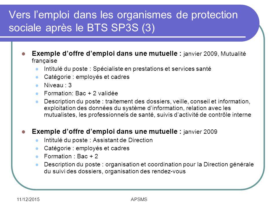 Bts sp3s brevet de technicien sup rieur ppt t l charger for Chambre sociale 13 janvier 2009