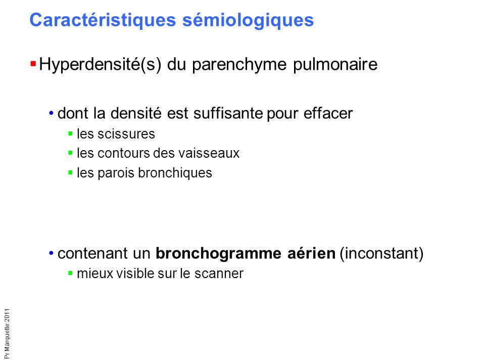 Caractéristiques sémiologiques