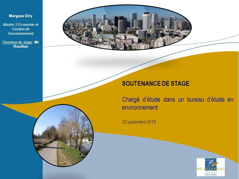 Soutenance orale 8 juillet ppt video online t l charger - Bureau d etude environnement bordeaux ...