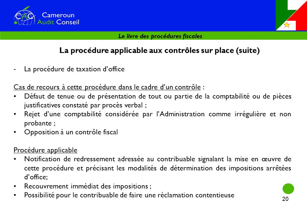 Module 6 le livre des procedures fiscales ppt t l charger - Procedure hospitalisation d office ...