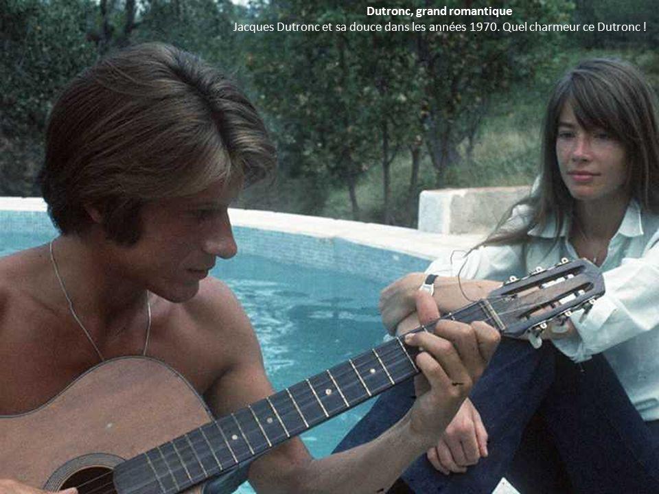 Dutronc, grand romantique Jacques Dutronc et sa douce dans les années 1970.