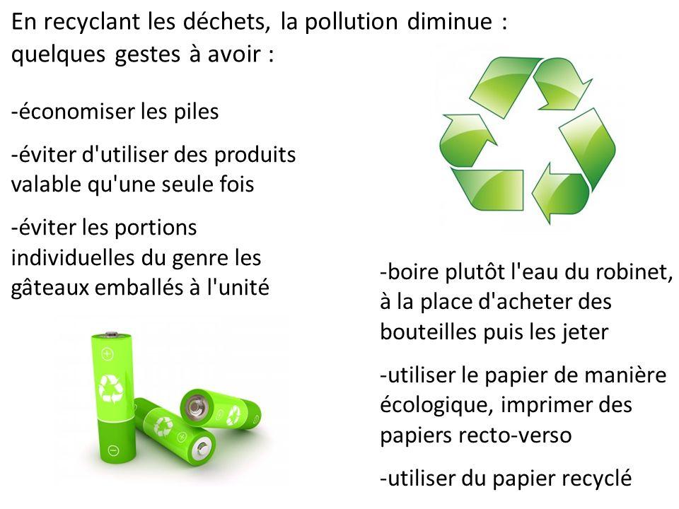 7 pollution des sols et de l eau et risque pour la sant - L eau du robinet ou l eau en bouteille ...