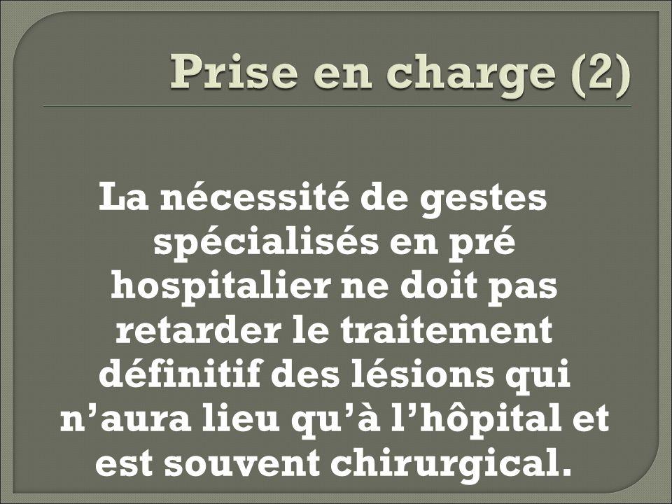 Prise en charge (2)