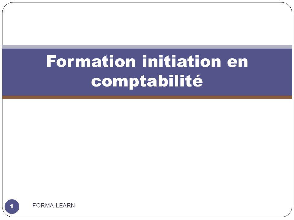 Formation initiation en comptabilité