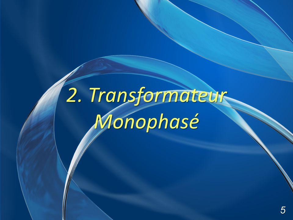 2. Transformateur Monophasé