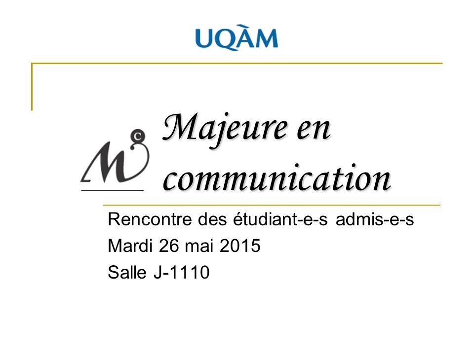 Rencontre de communication pjd