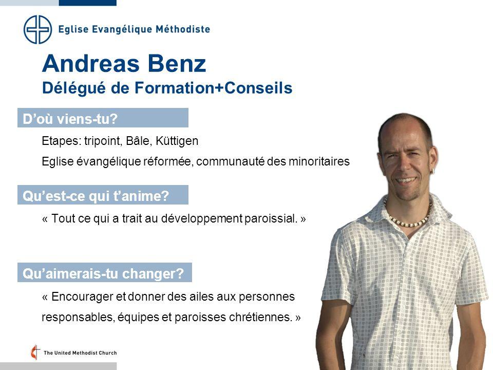 Andreas Benz Délégué de Formation+Conseils