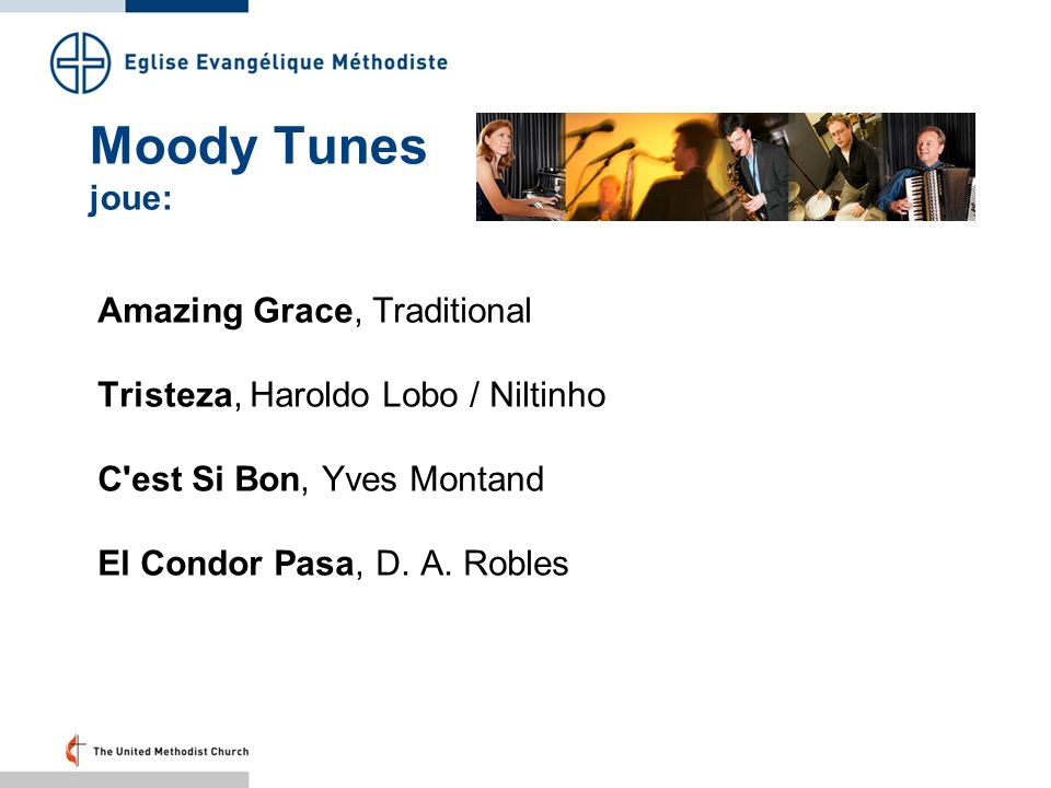 Moody Tunes joue: Amazing Grace, Traditional