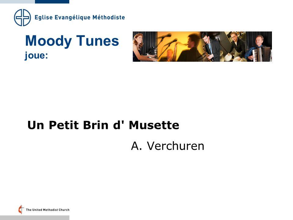 Moody Tunes joue: Un Petit Brin d Musette A. Verchuren