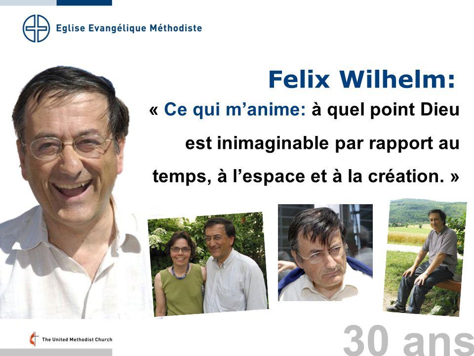 Felix Wilhelm: « Ce qui m'anime: à quel point Dieu est inimaginable par rapport au temps, à l'espace et à la création. »